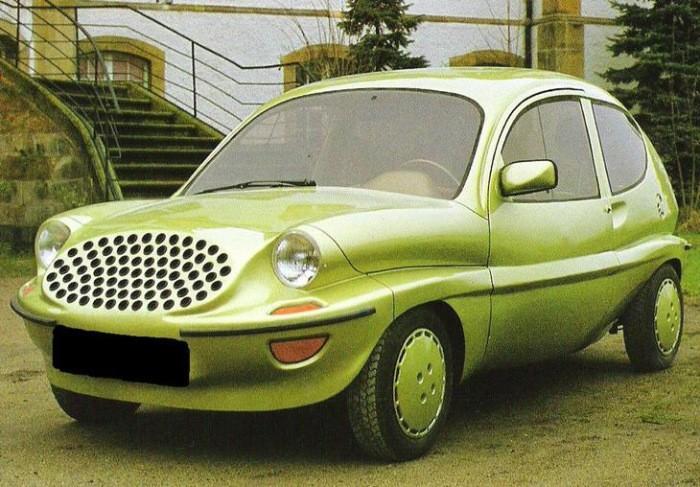 Автомобили, при проектировании которых что-то пошло не так