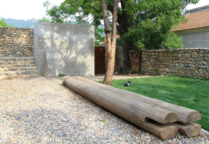 Новый интерьер старого сельского дома в Китае