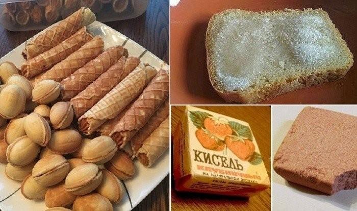 Легендарные сладости из СССР