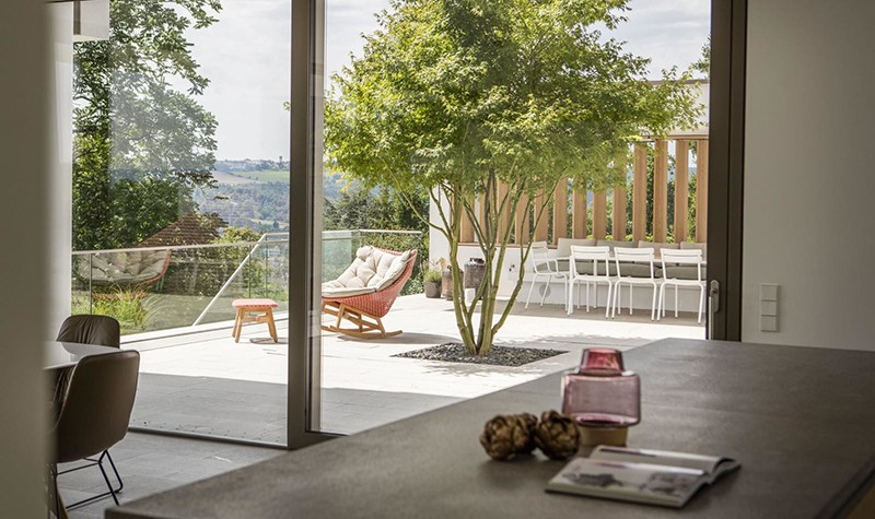 Интерьер семейного дома в Германии