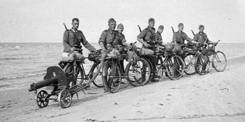 Подвиги на войне велосипедных войск