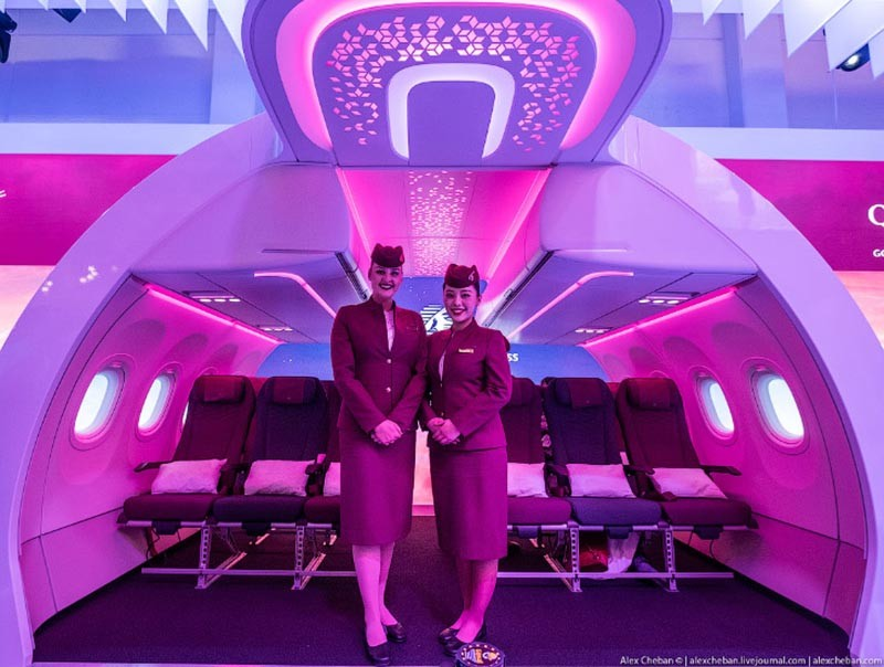 Эконом класс в самолетах Qatar Airways