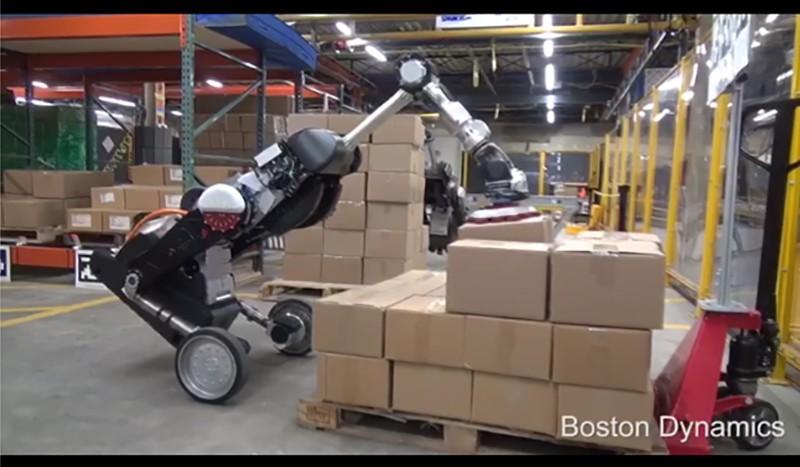 Новейший робот-грузчик от Boston Dynamics