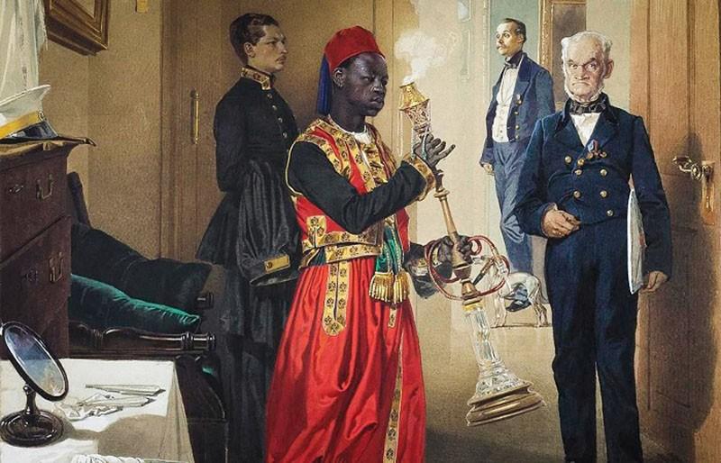 История появления темнокожих граждан в Российской Империи
