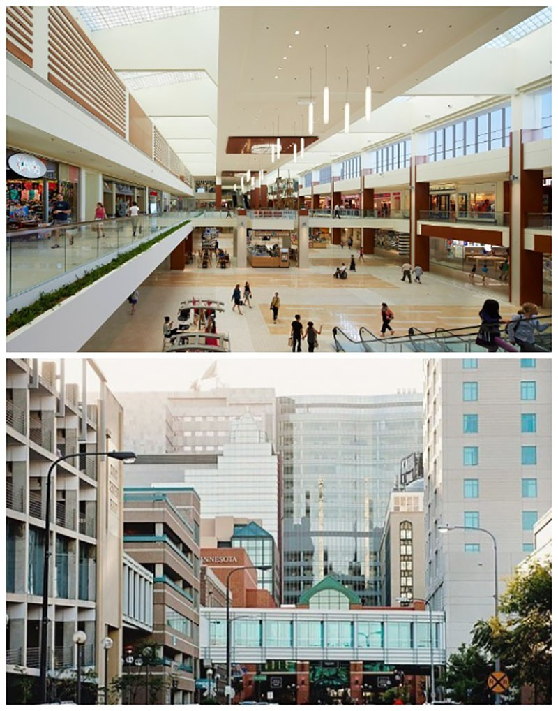В Миннеаполисе построили 18 км переходов между зданиями