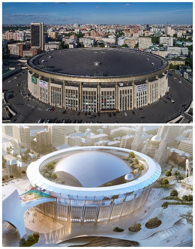 Как изменится облик СК «Олимпийского»