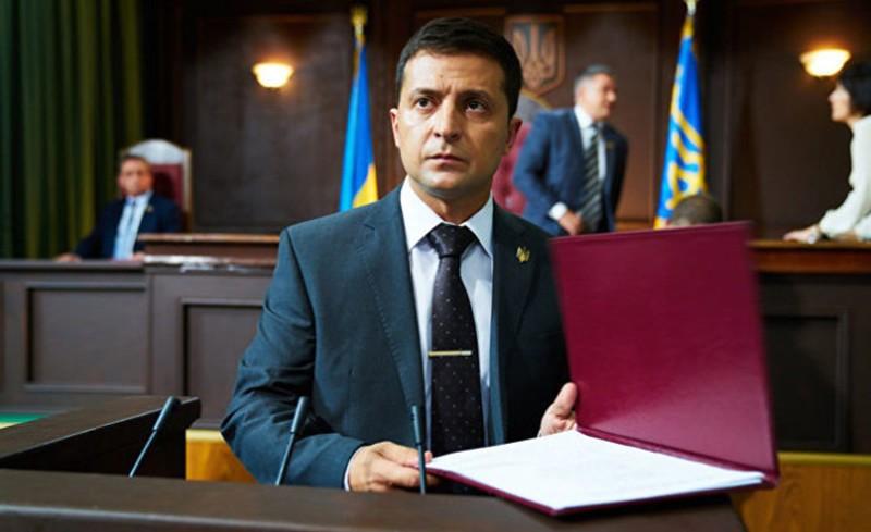 Украинский комик Владимир Зеленский возглавил рейтинг кандидатов на пост президента