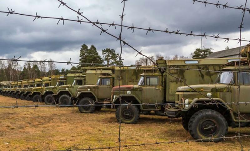 Как происходит консервация военной техники