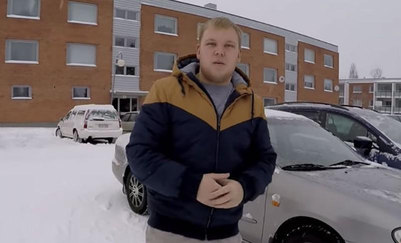 Русский эмигрант прогулялся по одному из кварталов Финляндии