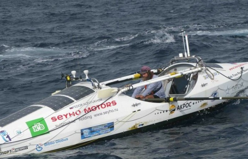 Лодка, на которой Федор Конюхов пересек Тихий океан