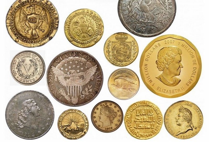 Самые дорогие монеты в мире