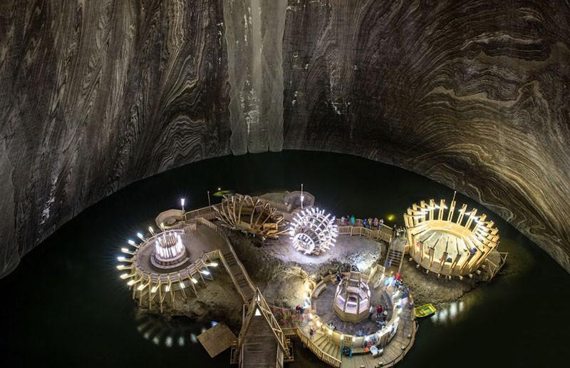 Красота соляных шахт