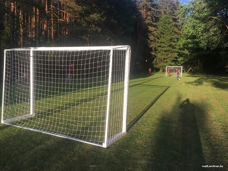 Жители белорусской деревни сделали своими руками футбольное поле, но лесхозу это «не понравилось»